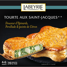 Labeyrie Tourte Aux Saint Jacques  500g