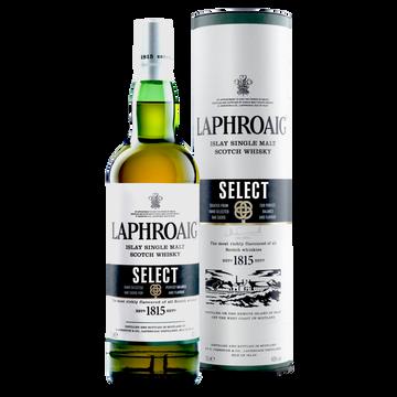 Laphroaig Scotch Whisky Single Malt Laphroaig,10 Ans D'âge, 40°, 70cl Sous Étui