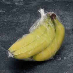 Banane cavendish, catégorie 1, Cameroun, sachet 5 doigts