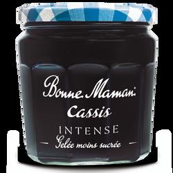 Gelée cassis intense BONNE MAMAN Andros, 335g