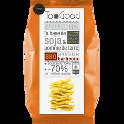 Soufflés au soja et pomme de terre goût barbecue TOOGOOD, 85g