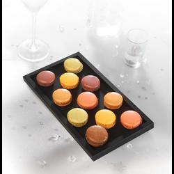Macaron décongelé, 12 pièces, 150g