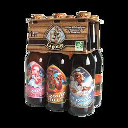 Bières des Charentes BIO pack découverte LA BOULE, 6x33cl