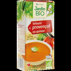 Velouté provençal au quinoa JARDIN BIO brique 33 cl