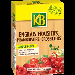 Engrais fraisiers KB BIO, 1,5kg