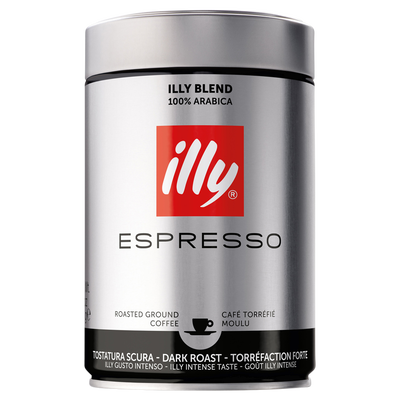 Café moulu torrefaction forte ILLY, 250g