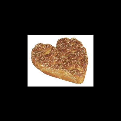 Brioche coeur, 1 pièce, 4kg