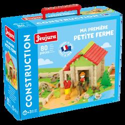 Jeujura - Ma première petite ferme - 80 pieces - Dès 3 ans