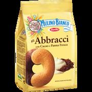 Mulino Bianco Biscuit Abbracci Au Cacao Et À La Crème Mulino Bianco, Sachet De 350g