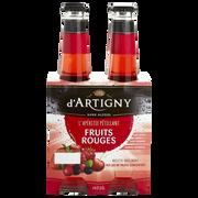 d'Artigny Cocktail Pétillant Sans Alcool Fruits Rouges D'artigny, 4x27,5cl