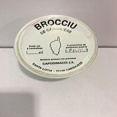 BROCCIU DE CARGESE 500GR