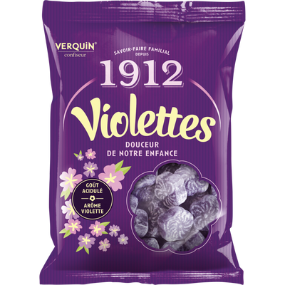 Bonbons à la violette sauvage VERQUIN, 250g