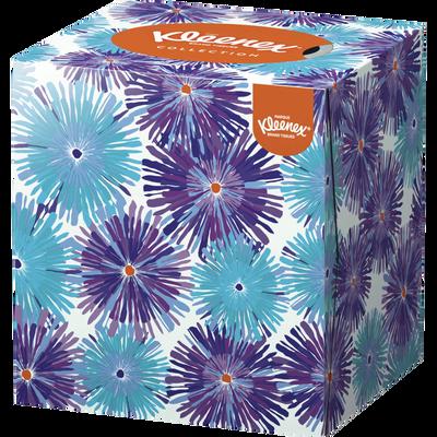Mouchoirs collection cube KLEENEX, boîte de 48