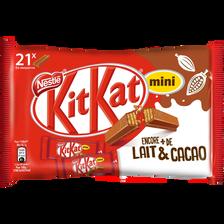 Mini-barres chocolatées KITKAT, 350g