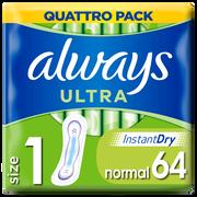 Always Serviettes Ultra Normal Always, X64