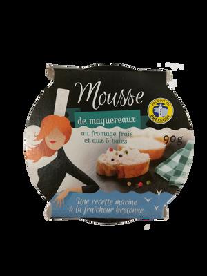 Mousse de mqx fromage frais et 5baies TY GWENN 90g