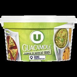 Guacamole à base d'avocat frais U, 200g