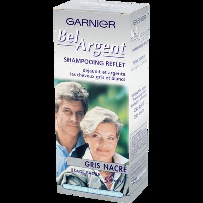 Shampooing reflet BEL ARGENT gris nacré, tube, 1 application