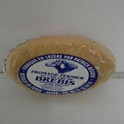 Fromage fermier LAIT cru de brebis Negron 31%MG, 100g