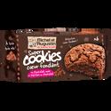 Michel et Augustin Cookies Coeur Fondant Tout Chocolat, , 180g