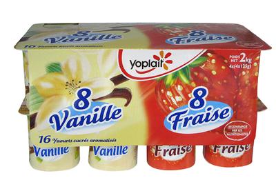 Aro Fraise/Vanille x 16