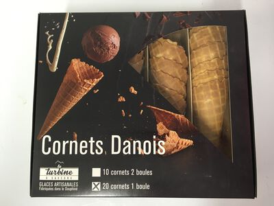 CORNETS GLACES X20