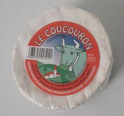 Fromage lait de vache 27% Mg, Coucouron 300g