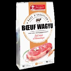 Boeuf wagyu sel rose de l'Himalaya, MAITRE JACQUES, 2 pièces