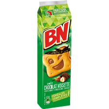 BN fourrés chocolat noisette, 16 biscuits, 295g