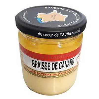 Graisse de Canard, bocal de 320g -  SAVEURS ET TRADITION DU MIDI