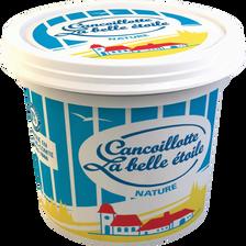Cancoillotte nature au lait pasteurisé LA BELLE ETOILE, 8%MG, 250g