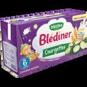 Blédina Blediner Lait Aux Légumes Courgettes, Dès 6 Mois, 2x250ml