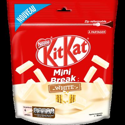 KIT KAT mini break white, 104g