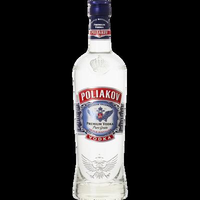 Vodka POLIAKOV, 37,5°, bouteille de 70cl
