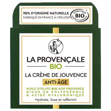 La Provençale Bio Crème De Jouvence Anti-âge Bio La Provencale, 50ml
