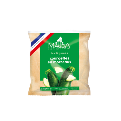 Courgettes France MAGDA, sachet de 500g