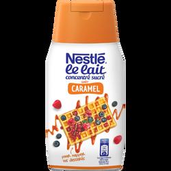 Lait concentré sucré au goût caramel NESTLE DESSERT, bouteille 450g