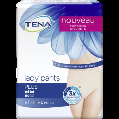 Culottes pants plus taille L TENA, lady x8