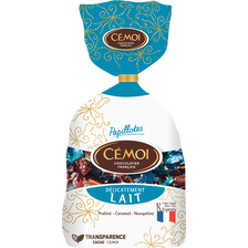 Papillottes delicatement lait CEMOI, sachet de 380g