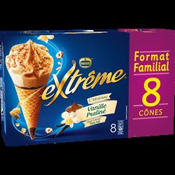 EXTRÊME vanille praliné, x8 soit 568g