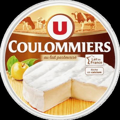 Coulommiers au lait pasteurisé, U, 24%MG, 350g