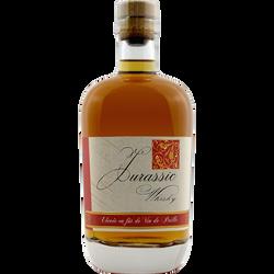 """Whisky Jurassic """"élevé en fût vin de paille"""", bouteille 70cl"""
