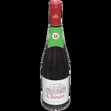 Vin rouge AOC Chinon Les hauts buis U, 75cl