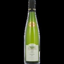 Vin blanc d'Alsace AOC Riesling cuvée prestige BARON DE HÖEN, bouteille de 75cl