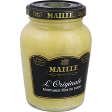 Moutarde original fine de Dijon MAILLE, bocal 215g