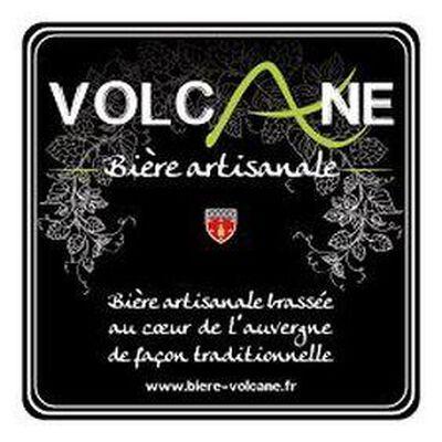 """Bière artisanale Volcane """"la bête rousse"""" 75cl"""