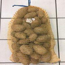 Pomme de terre de consommation : MANON, calibre 35+, Catégorie : 1, Bonnée (LOIRET),