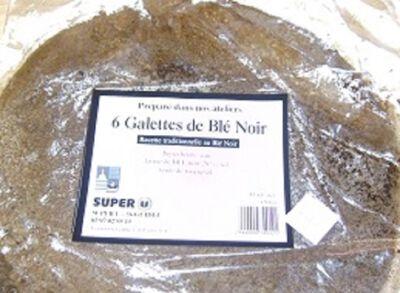 6 Galettes de blé noir, 450g