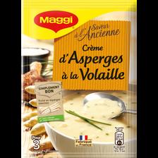 Crème d'asperges à la volaille déshydratée MAGGI 10x68g, 75cl