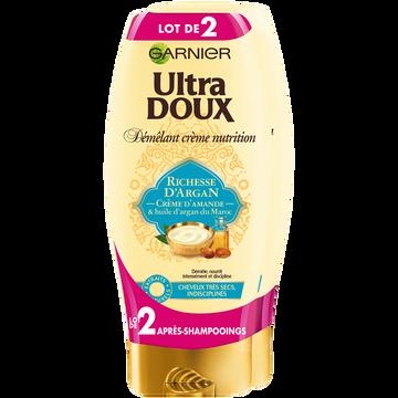 Garnier Après Shampooing Richesse Argan Ultra Doux 2x200ml